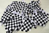 Checker Flaggspel 15x22 cm