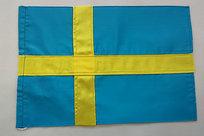 Bordsflagga Sverige 16x24 cm Sydd