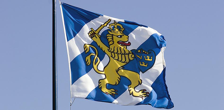 Tänk inte bara Svenska flaggan!